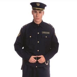 Men's Police Costume Large